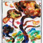 Jahresend-Postkarte aus dem Jahr 2001