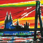 Jahresend-Postkarte aus dem Jahr 2010